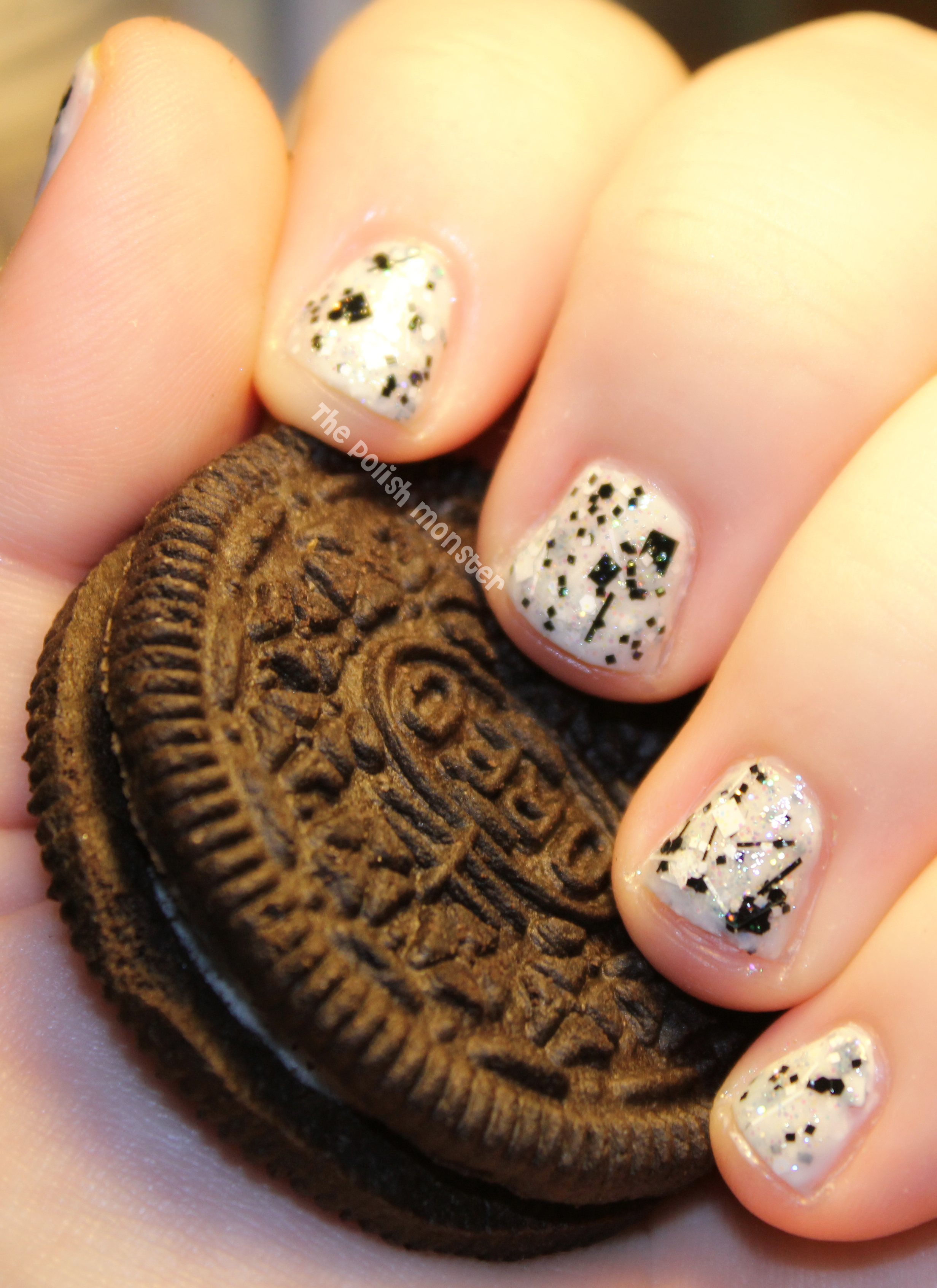 Just Another) Mani Monday: Oreo Nails with Lush Lacquer Salt N ...