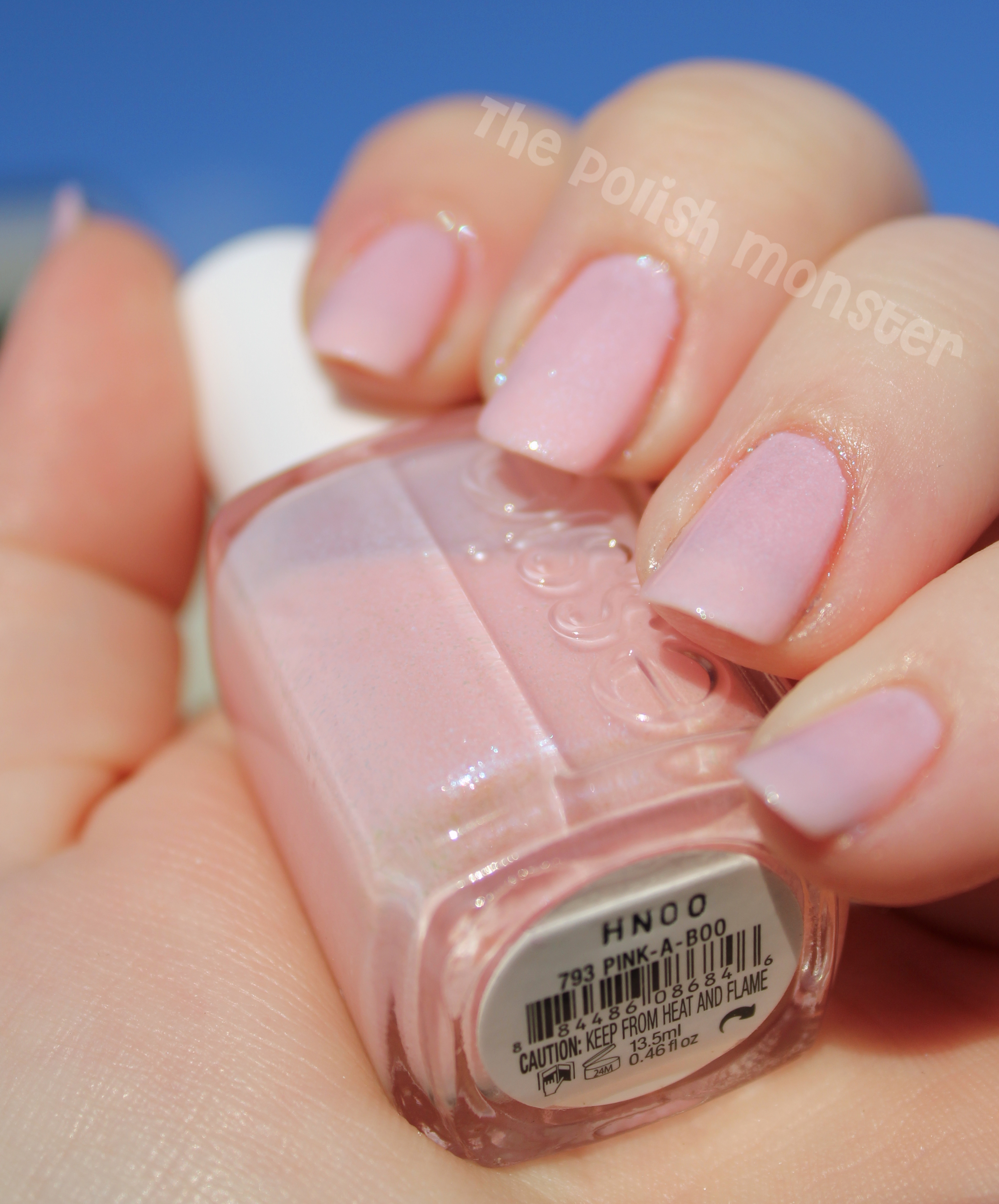 Go Pink Wednesday! Essie Pink-A-Boo and A Cut Above | Polish Monster