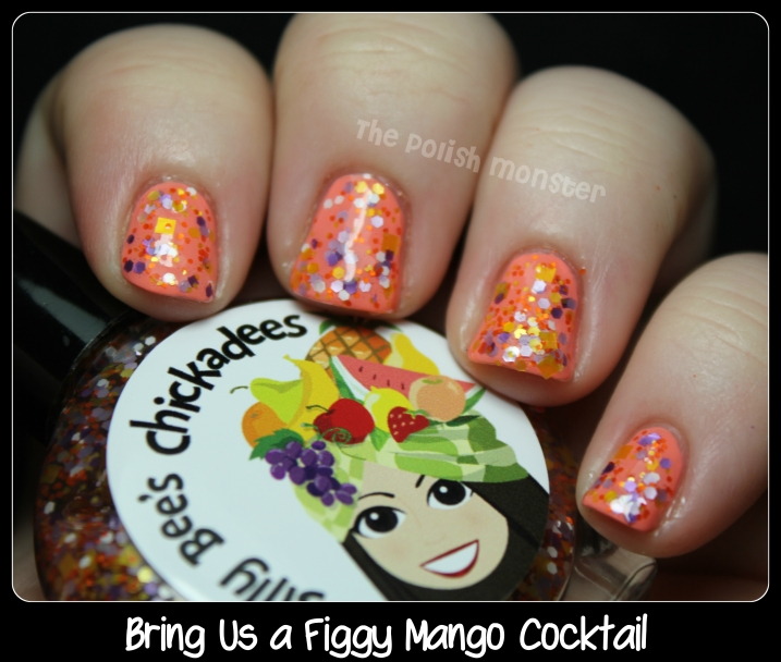 Silly Bee's Chickadees Bring Us A Figgy Mango Cocktail